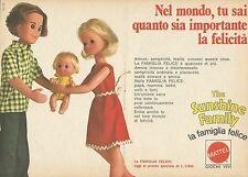 X9547 The Sunshine Family - La Famiglia Felice - Pubblicità 1976 - Advertising