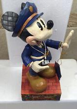 "Nib Jim Shore Disney Traditions Mickey Mouse ""Protect & Serve� #4007664"