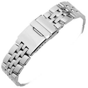 20 22 24mm Stainless Steel Watch Band/Strap/Bracelet For Breitling Chronomat