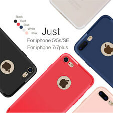 B002 Matte Soft TPU Silicon Back case for iPhone8 8Pus  6 6S 7 Plus 5 5S SE
