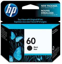 Genuine HP 60 CC640WN Black Ink Cartridge 2013-15