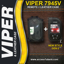 Viper 7945V HD SST 2-Way OLED Color Remote Control And Leather Case For The 5901