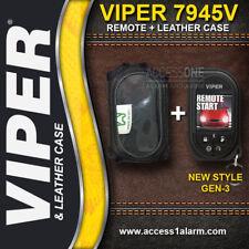 Viper 5906V HD SST 2-Way OLED Color Remote Control 7945V & Leather Case