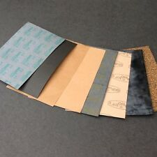 gasket paper 10 sheets various thicknesses various gasketing materials
