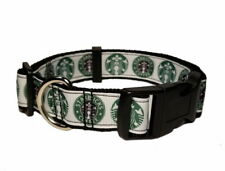 COFFEE FRAPPUCCINO CUTE DOG COLLAR OR ADD MATCHING LEASH