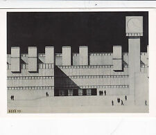 Jose Rafael Moneo Design for Amsterdam City Hall Postcard unused