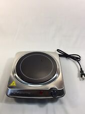 Electric Cooktop Stove Portable One 1 Burner Ceramic Glass Hot Plate Cooking
