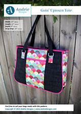 Goin' Uptown Tote Bag PATTERN - Andrie Designs - Fabrics4u2