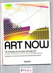 LIBRO BOOK | ART NOW - TASCHEN - GROSENICK & RIEMSCHNEIDER - ARTE CONTEMPORANEA