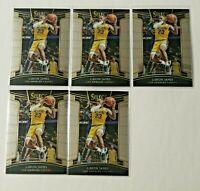 2018-19 Panini Select Lebron James Lot (5) #11  Los Angeles Lakers