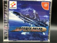 AirForce Delta w/spine (Sega Dreamcast, 1999) from japan #1345