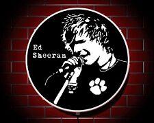 Ed Sheeran Led 600mm Illuminated Wall Light Sign Logo Girls Bedroom Birthday