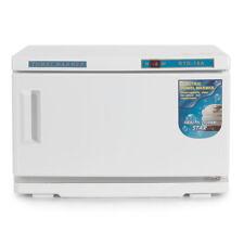 16L 2 in 1 UV Light Hot Facial Spa Towel Sterilizer Salon Cabinet Warmer Heater