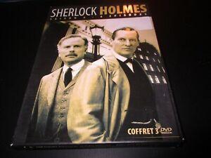 """COFFRET 3 DVD """"SHERLOCK HOLMES - SAISON 4"""""""