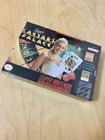 Super Caesars Palace New Factory Sealed SNES Super Nintendo Rare Video Game