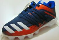 Adidas Youth Afterburner 6 MD G27675 Baseball Cleats Kids' Size 11K Navy Orange