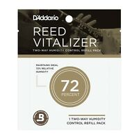 D'Addario Reed Vitalizer Two-Way Humidity Control System Refill Pack Single
