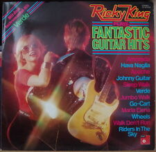 RICKY KING PLAYS FANTASTIC GUITAR HITS CHEESECAKE GLAM COVER GERMAN PRESS LP