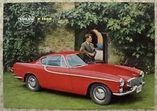 VOLVO P 1800 Sports Car Sales Specification Sheet Nov 1961 #RK224/3 11.61