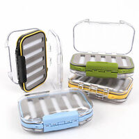 Maxcatch Fly Box Fly Fishing Tackle Box Double- Side Slit Foam