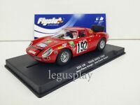 Slot car Scalextric Flyslot Ref. 053108 Ferrari 250LM Tour Auto 1969 Rouget