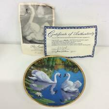 The Swan Collector Plate by James Faulkner - Art Plate #974