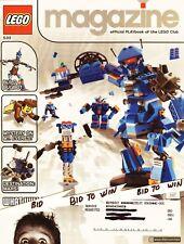 LEGO Magazine Publication Playbook of Lego Club 2003 Bugbot's Mt. Everest  Mars