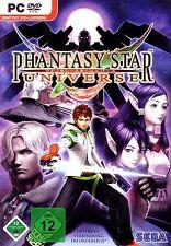 Phantasy Star Universe para PC nuevo/en el embalaje original/alemán