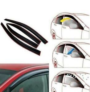 Fit for HYUNDAI ACCENT ERA 2006-2013 Sport Style Window Wind Deflector 4 Pcs