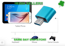 USB-C 3.1 Male Type C to USB Adapter 3.0 Female Data Connector Blue 2 Pcs
