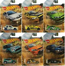 HOT WHEELS 2019 RALLY SPORT SERIES Complete set of 6 cars