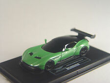 Aston Martin Vulcan Sportwagen grünmet- Fronti Art Auto Sammler Modell in 1:87