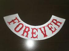 Forever Patch Patch back parche nuevo 40x9cm MC, 81, sotana, Biker