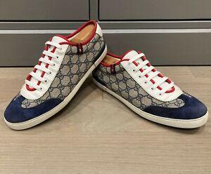 Gucci Men's GG Plus Sneakers Sz 9 G = US 10 *Authentic*