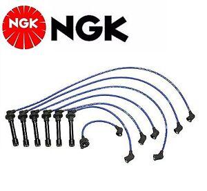 NGK Spark Plug Ignition Wire Set For Honda Accord V6; 3.0L 1998-2000