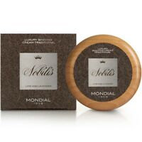 Mondial 1908 Nobilis Luxury Shave Cream Wooden Bowl 140ml