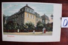 Postkarte Ansichten Sachsen Lithografie  Meuselwitz Schloss