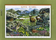 #797 41c Alpine Tundra #4198a-j USPS Commemorative Stamp Panel