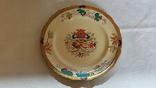 Mason's Ironstone vintage Victorian antique red flower plate