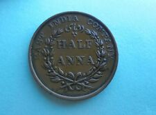 India, East India Co, Half Anna 1835, Great Condition.
