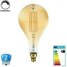"""Bombilla Led E27 8W PS160 700lm 300º 1800K Cristal """"Oro"""" Regulable (Dimmable)"""