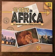 10 Days In Africa (Out of the Box) Board Game OUT OF PRINT