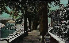 EXHIBITION : 1910 JAPAN-BRITISH-Winter  The Four Seasons -VALENTINE'S