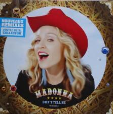 VINILI Madonna don t tell me vinyle bleu collectotor nouveaux remixes non sigill
