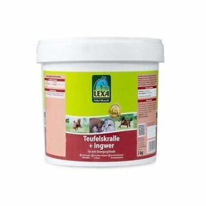 3 kg Lexa Ingwer & Teufelskralle Spat Bänder Gelenke Pferd (11,96€/1kg)