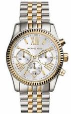 Michael Kors MK5955 Lexington Damenuhr Armbanduhr Edelstahl Silber Gold NEU OVP