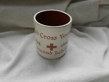 More details for red cross youth diamond jubilee 1924 - 1984 bideford studio pottery mug cup