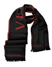 Versace Collection Men's Logo Wool Scarf