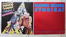 "Hongkong Syndikat - 2 x 12"" Maxi's   → No more sorrow  &  → Concrete + clay"