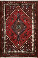 New 3x4 Geometric Tribal Hand-knotted Area Rug Wool Oriental Traditional Carpet